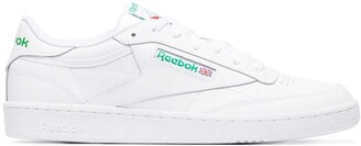 Reebok White leather Workout Plus sneakers