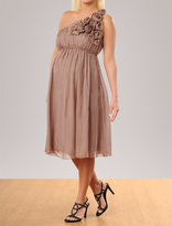 Apeainthepod ABS Collection Sleeveless Rosette Details Maternity Dress
