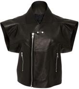 Rick Owens Cyclo Biker Leather Vest
