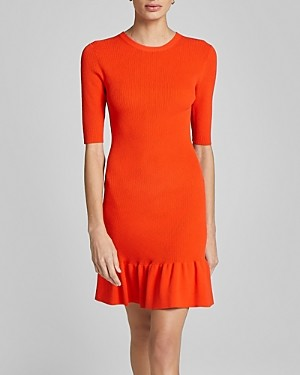 A.L.C. Vance Ruffled Dress