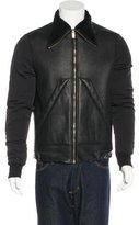 Rick Owens Lambskin Sherpa Jacket