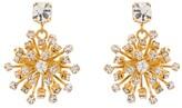 Rosantica Arcadia crystal flower drop earrings