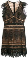 MICHAEL Michael Kors scalloped lace dress