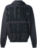 Haider Ackermann Silence Soldier hoodie - men - Cotton - L