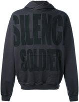 Haider Ackermann Silence Soldier hoodie - men - Cotton - S