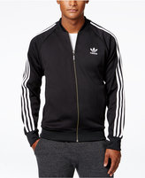 adidas Men's Superstar Zippered Track Jacket