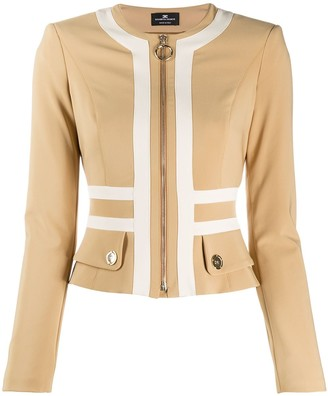 Elisabetta Franchi Panelled Fitted Jacket
