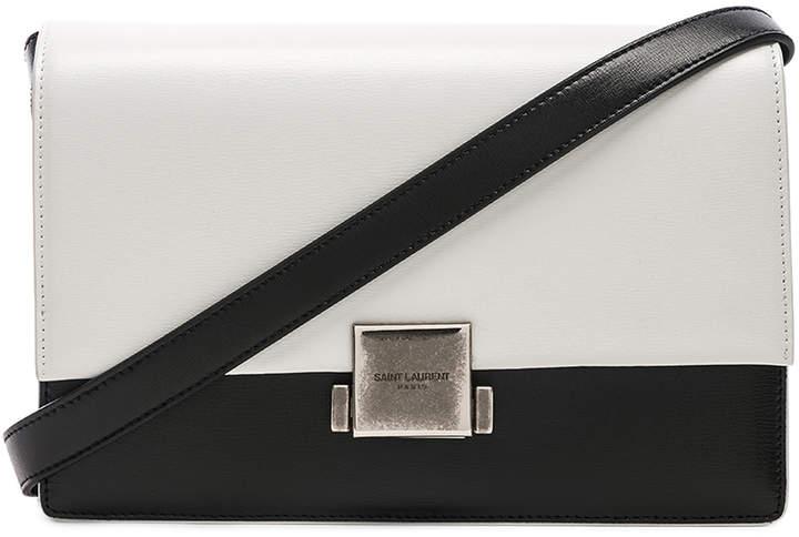 Saint Laurent Medium Colorblock Leather Bellechasse Satchel