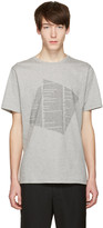 Public School Grey Kissen Text T-shirt