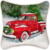 Holiday Drive Square Throw Pillow