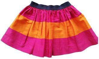 Ralph Lauren Orange Cotton Skirts
