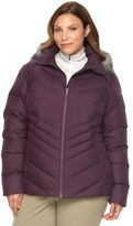 Columbia Plus Size Icy Heights Hooded Down Puffer Jacket