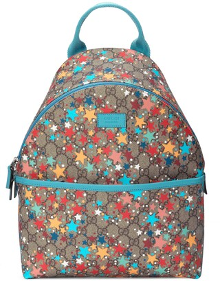 Gucci Children's GG star print backpack
