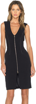 L'Agence Eva Zip Front Dress