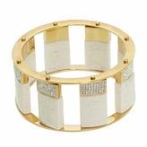 Lele Sadoughi Pave Stone Slider Bracelet