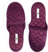 Kumi Kookoon Silk Slippers, Merlot