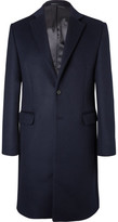 Acne Studios Gavin Felted Wool-blend Coat - Navy