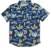 Sovereign Code Boys' Tropical Print Shirt - Big Kid