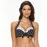 Apt. 9 Women's Ikat Dot Halter Bikini Top