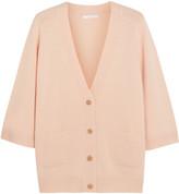 Chloé Oversized Cashmere Cardigan - Blush