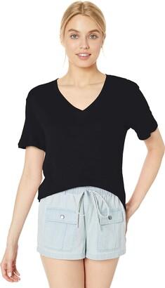 Splendid Women's Deep V-Neck Modal Tee T-Shirt