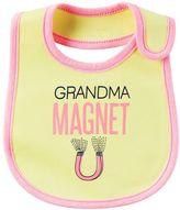 "Carter's Baby Girl Grandma Magnet"" Bib"