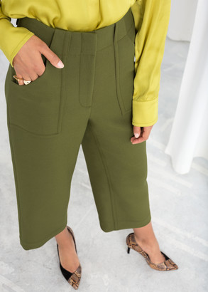 And other stories High Waisted Workwear Pants