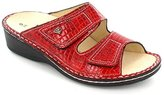 Finn Comfort Womens 2519 Jamaica Paranalack Feuer Red Patent Leather Sandals 40 EU