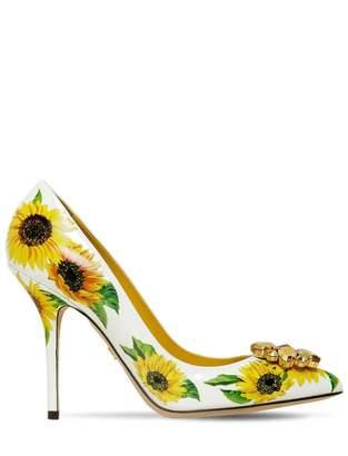 Dolce & Gabbana \N White Leather Heels