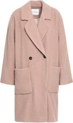 American Vintage Double-breasted Wool-blend Coat
