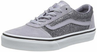 Vans Girls' Ward Suede/Canvas Trainers