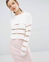 Asilio Ladder To Lust Knit Sweater