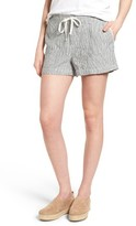 Women's Caslon Drawstring Linen Shorts