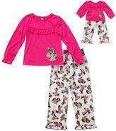 Dollie & Me Girls 4-14 Pony Pajama Set