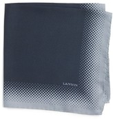 Lanvin Men's Silk Pocket Square