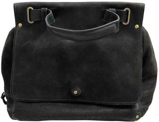 Jerome Dreyfuss Johan Grey Suede Handbags
