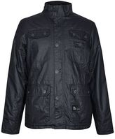 Burton Burton Crosshatch Black Wax Coated Jacket*