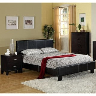 Furniture of America Wene Modern Stitched 3-piece Bedroom Set