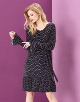 Yumi Spot Crinkled Dress