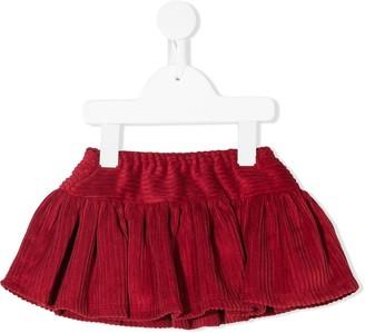 La Stupenderia Ruffled Corduroy Skirt
