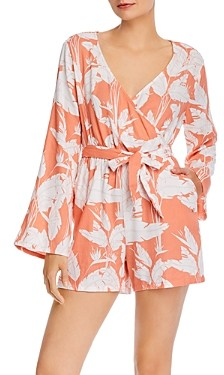Roxy New Morning Air Bell-Sleeve Romper