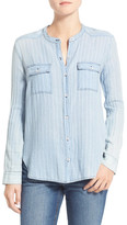 Splendid Oroya Stripe Chambray Shirt