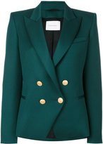 Pierre Balmain double breasted blazer - women - Viscose/Wool - 36