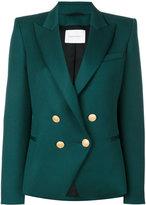 Pierre Balmain double breasted blazer - women - Viscose/Wool - 38