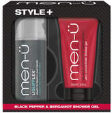 Menu men-u Style+ Black Pepper & Bergamot Shower Gel 100ml - Liquifflex