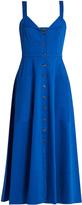 Saloni Fara button-down midi dress