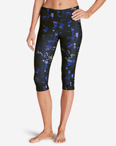 Eddie Bauer Women's Movement Crop Leggings - Print