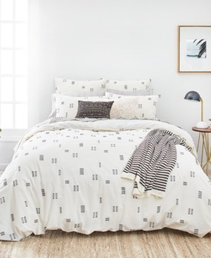Splendid Crosshatch Twin Duvet Cover Set Bedding