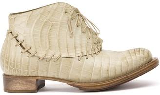 Cherevichkiotvichki Whipstitched Ankle Boots