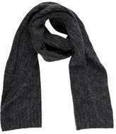 By Malene Birger Rib-Knit Textured Scarf